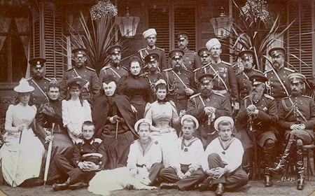 Romanov Dynasty in 1892
