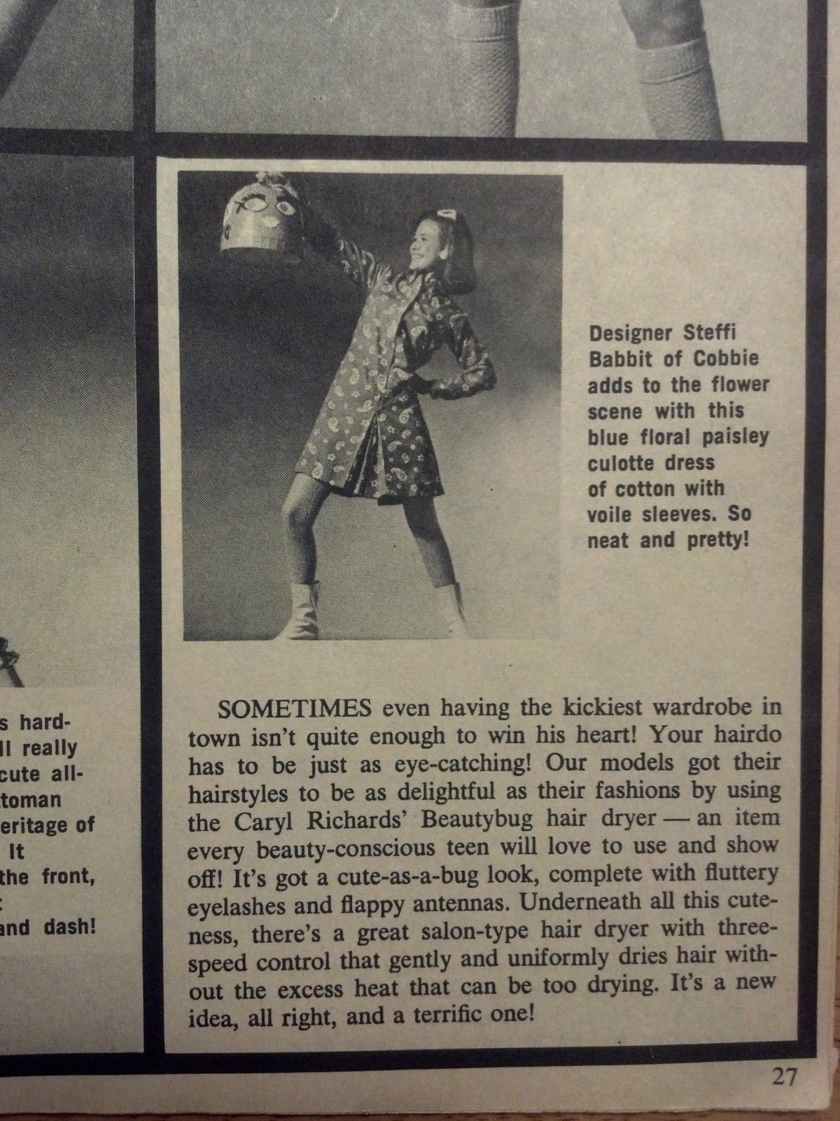 Vintage Clothing Do You Think Its Coming Back: For Teens Only March 1968