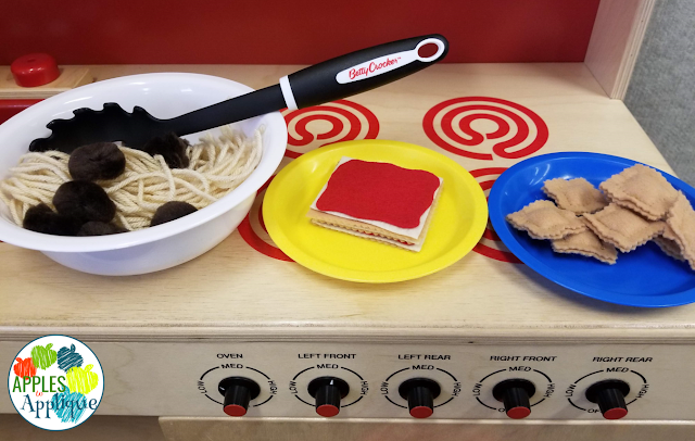 Italian Restaurant Dramatic Play | Apples to Applique