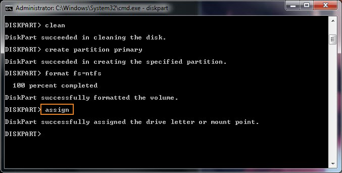 how to format c drive using ms dos