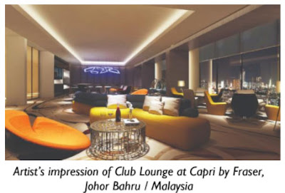 Frasers Hospitality checks in to Johor with Capri by Fraser and Fraser Place Puteri Harbour