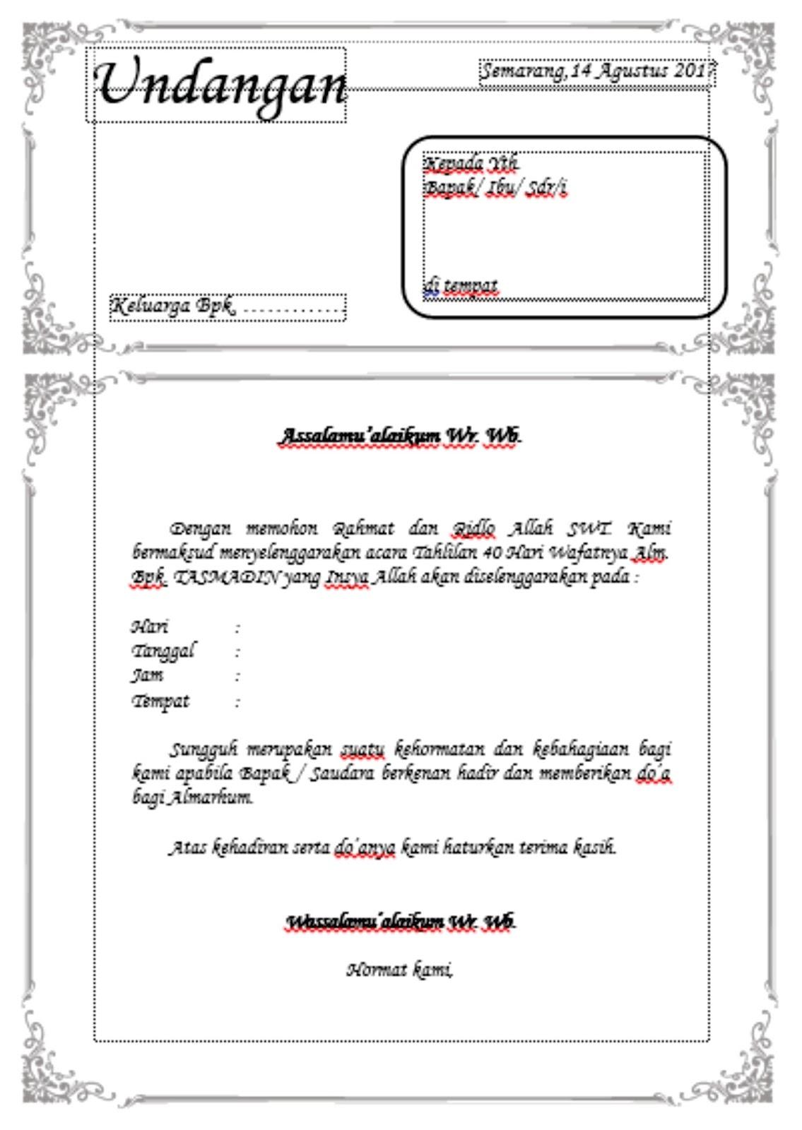 undangan aqiqah yang bisa di edit - wood scribd indo