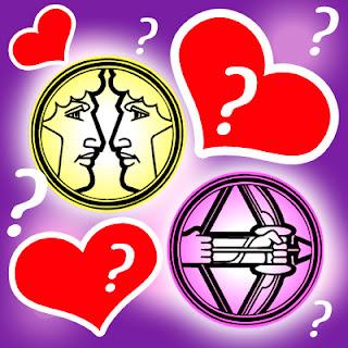 Compatibilidad en el Amor entre Géminis y Sagitario