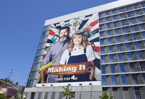 Giant Making It series premiere billboard