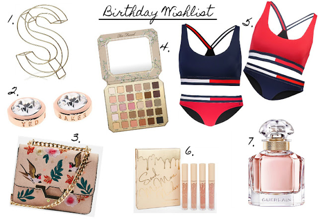 Birthday Wishlist 21st Subject Beauty