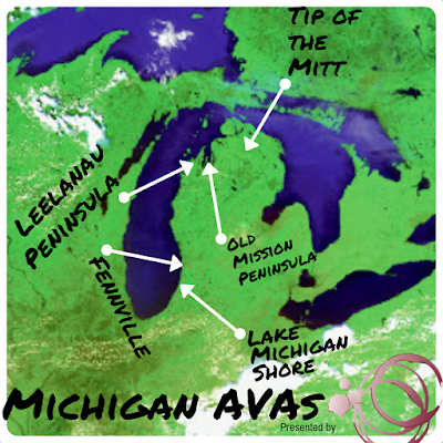 Michigan wine appellations