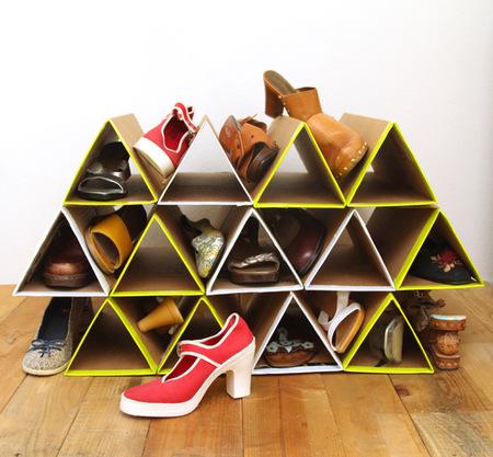 cara membuat rak sepatu dari kardus bekas gbr 3