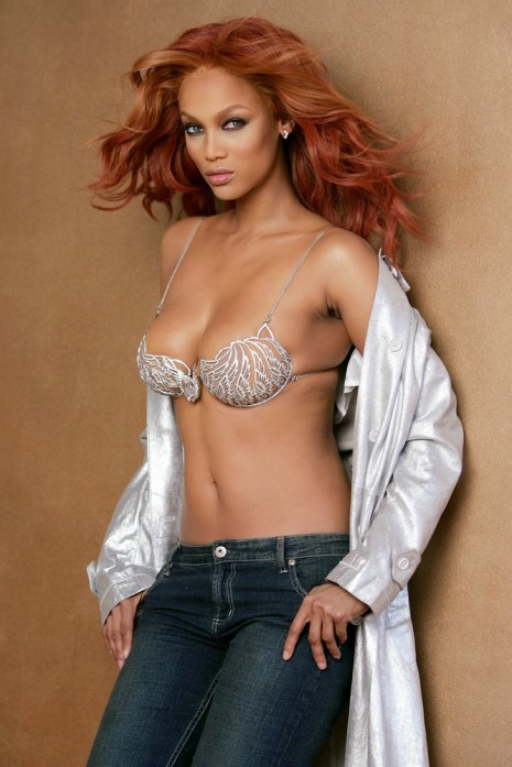 Are not bank bra no shirt tyra excellent