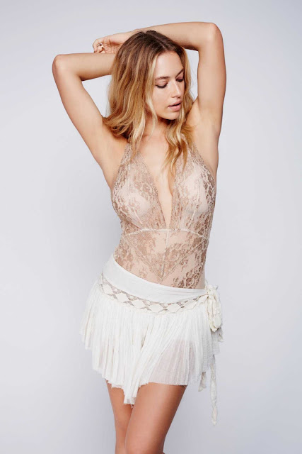 Free People Lingerie Campaign Latest featuring Hannah Ferguson
