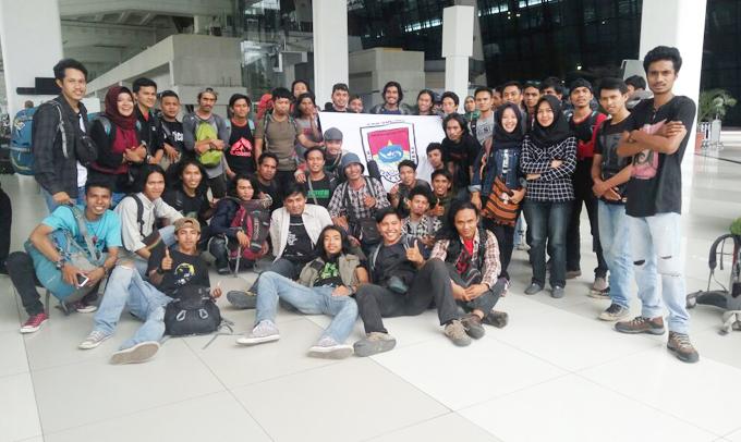 Mapala Veteran UPRI Makassar Ikuti TWKM di Marpala UBK Jakarta