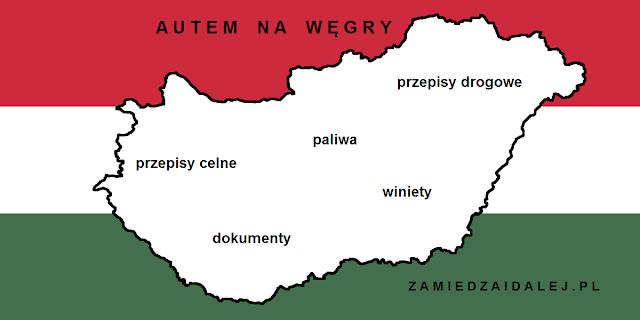 Podróż samochodem na Węgry (2018)