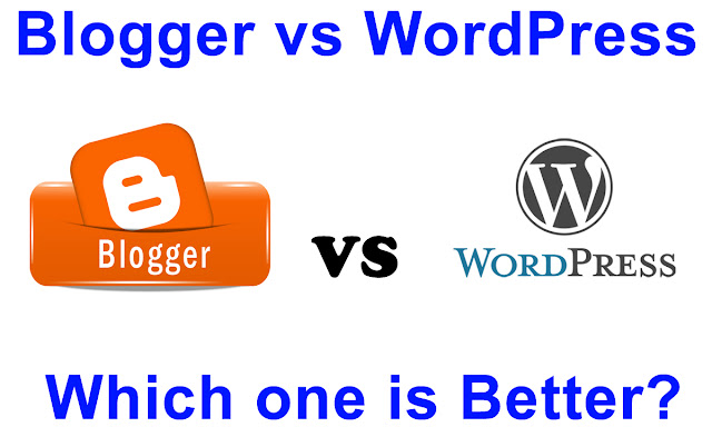 Blogger vs WordPress 2017