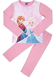 Pyjama Sets motif frozen, 100% Cotton, pink ,for girls 6 – 8 years £8.41 (Limited)
