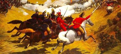 Ilustración de la Batalla de Carabobo para niños