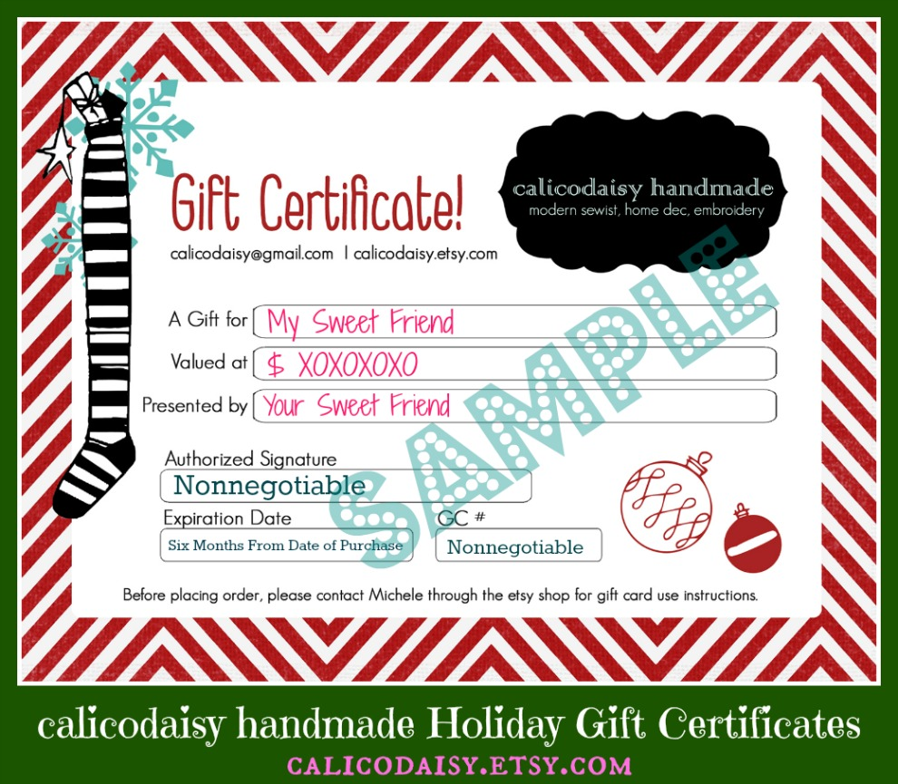 Gift Certificate Template New Kitchen