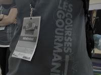 Bénévole Courses gourmandes T-shirt cocarde