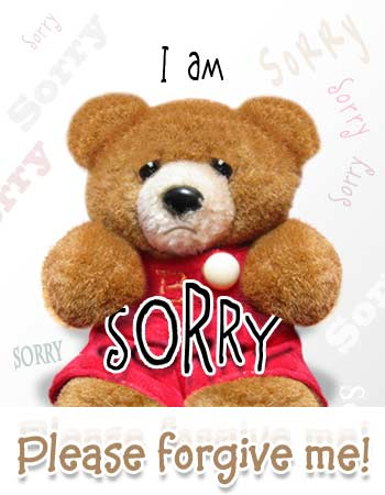 I Am Sorry To Display Pictures Of Sorry Cards Really Sorry Whatz