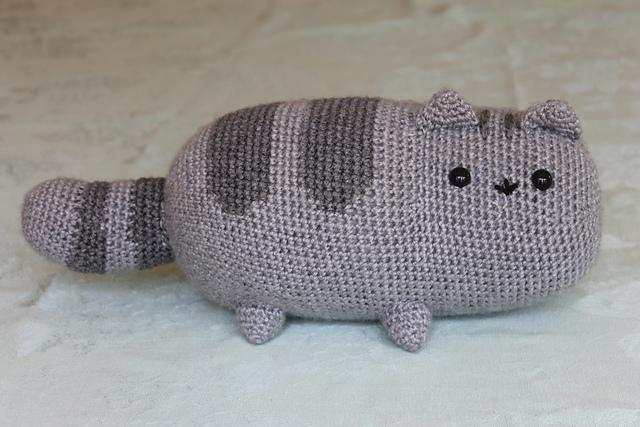 Gato Amigurumi Llavero : Gato amigurumi patrones gratis arte friki