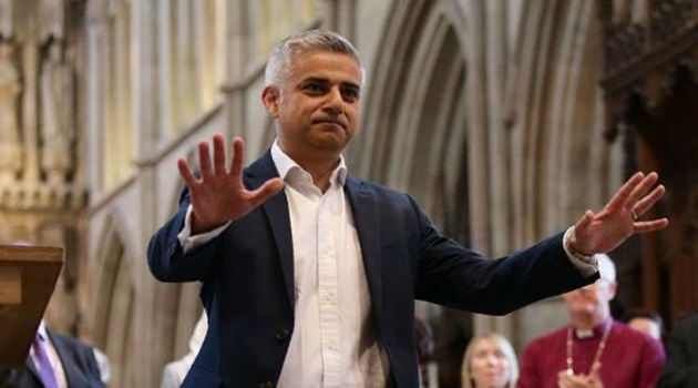 Jadi Wali Kota Muslim Pertama London, Sadiq Khan Pilih Pelantikan di Gereja