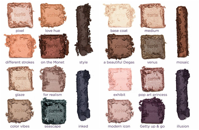 Tarte Color Wheel Ian Clay Blush Palette Lower Pan Blushes