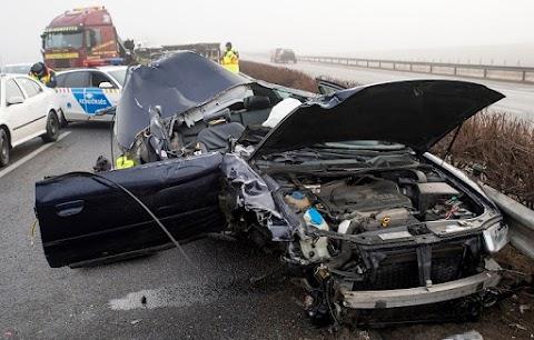 Halálos baleset történt az M1-es autópályán Győrnél