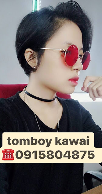 5 lý do nên yêu một cô gái tóc ngắn : tomboy Kawai