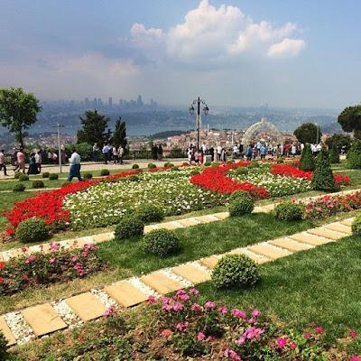Το δημόσιο πάρκο στο Λόφο Τσάμλιτζα