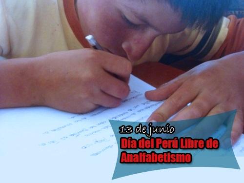 dia libre de analfabetismo