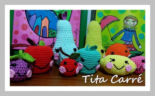 Frutinhas em Crochet da Tita Carré