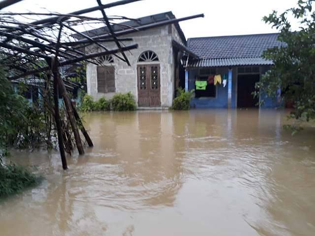 Chùm ảnh lũ lụt tại Giáo xứ Dương Sơn – Huế - Ảnh minh hoạ 21