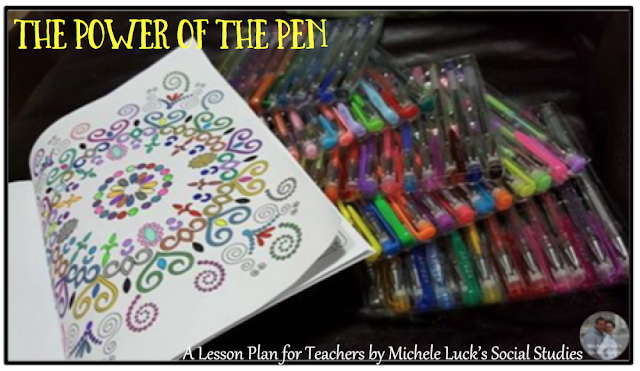 The power of the pen has changed in the middle and high school classroom, and these suggestions for teaching with gel pens can take your lessons and activities from droll to delightful!