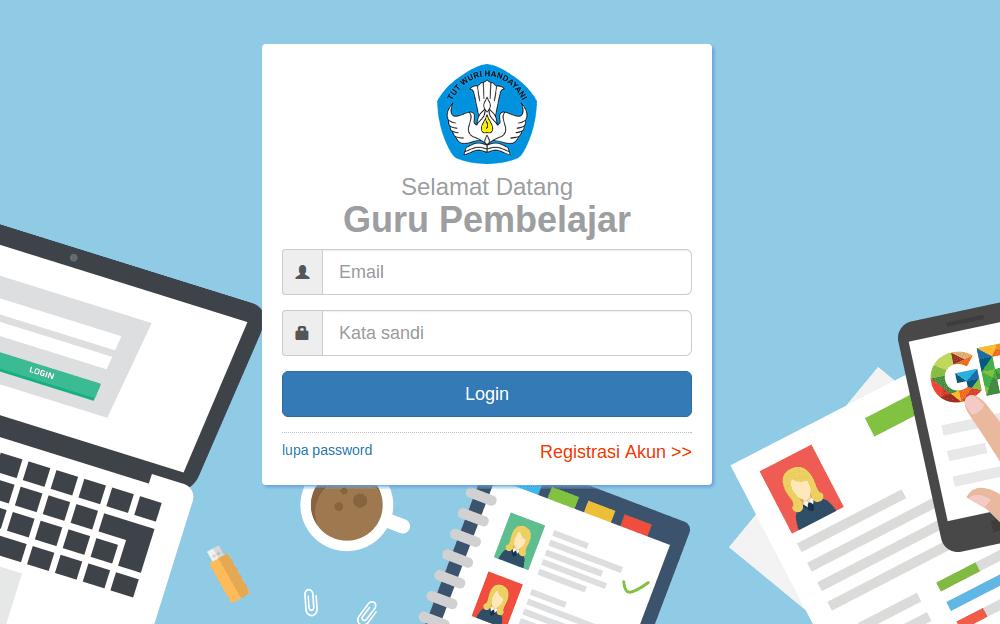 Panduan Cara Registrasi/Login SIM Guru Pembelajar 2017 (SIM PKB Guru)
