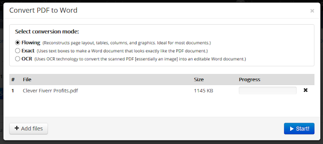 How to Convert PDF Files to Word Format (.doc, docx) free 2