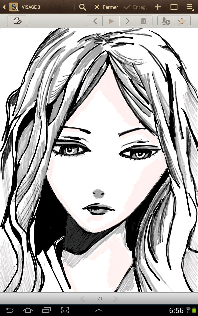 Dessin de visage de femme triste - Dessins triste ...