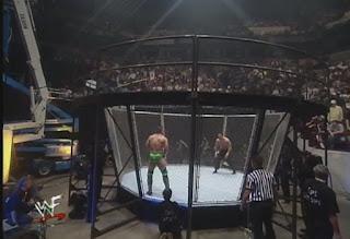 WWE / WWF - Summerslam 1999 - Ken Shamrock vs. Steve Blackman in a Lion's Den match