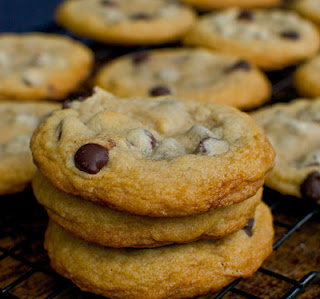 Thick and Chewy Chocolate Cookies