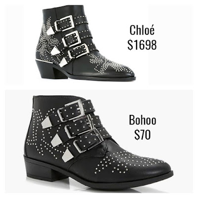 Designer Dupes Look For Less Chloe Sussana Boots
