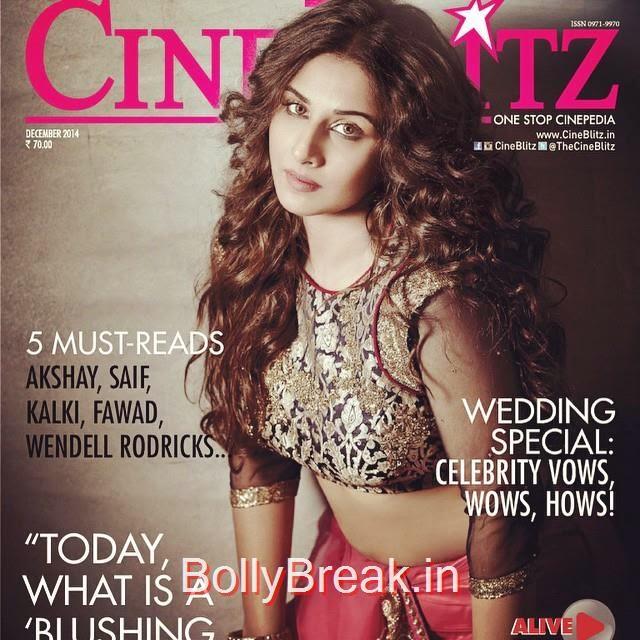 vidya balan covers cineblitz magazine december 2014 issue..  insta bollywood , bollywood ,  vidya balan , cineblitz ,, Vidya Balan on cover of Cineblitz Magazine Dec 2014
