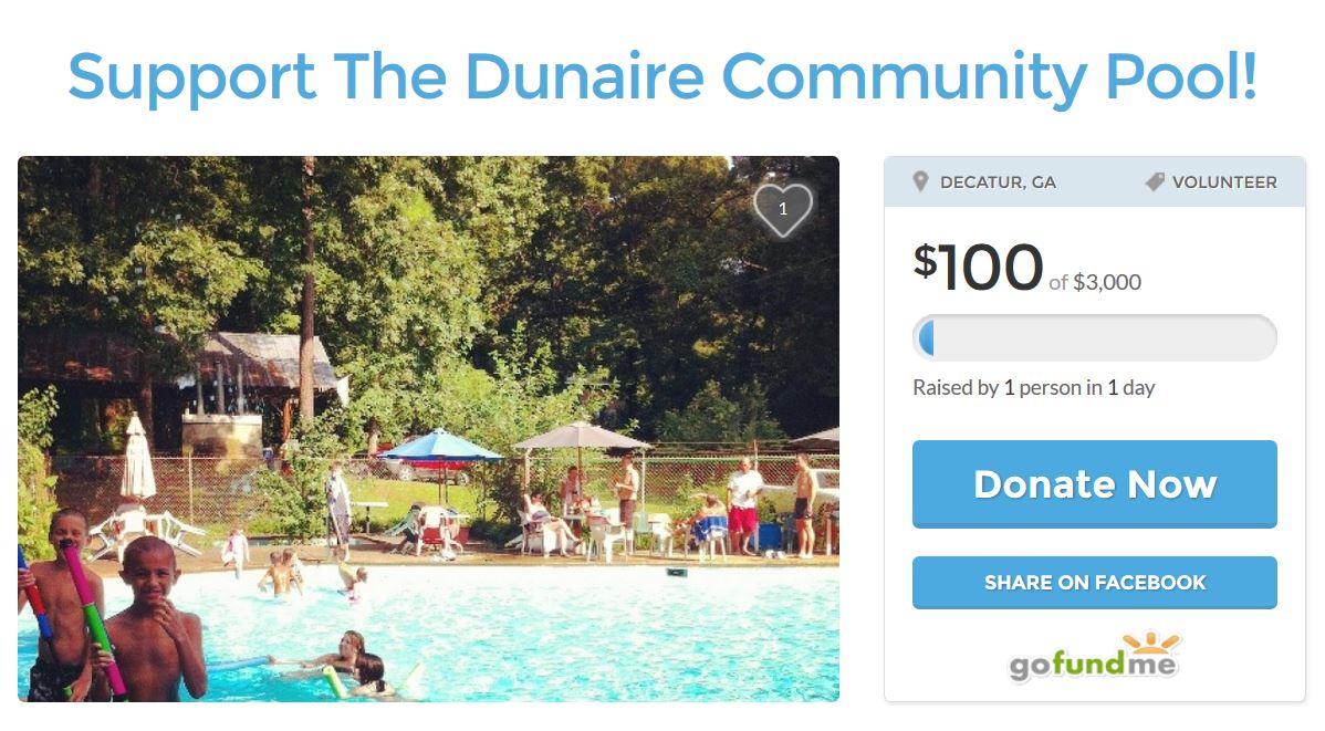 Dunaire Neighbors: Support The Dunaire Community Pool!