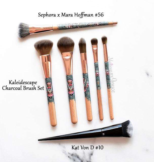 Kat Von D 10 Lock-It Edge Foundation Brush Review Dense