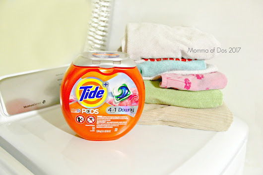 Laundry for days...the Momma Struggle with Tide® PODS™ + Downy® #sponsored