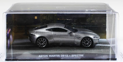 Autos a escala colección James Bond Aston Martin DB10
