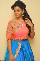 Nithya Shetty in Orange Choli at Kalamandir Foundation 7th anniversary Celebrations ~  Actress Galleries 020.JPG