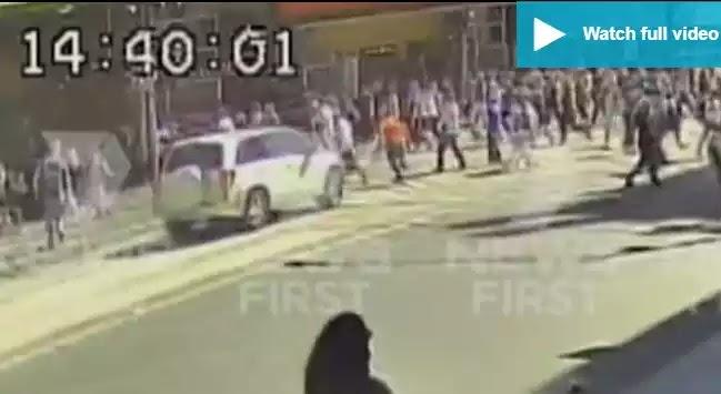 Βίντεο-Ντοκουμέντο: Η στιγμή που το αυτοκίνητο παρασύρει 19 πεζούς στη Μελβούρνη