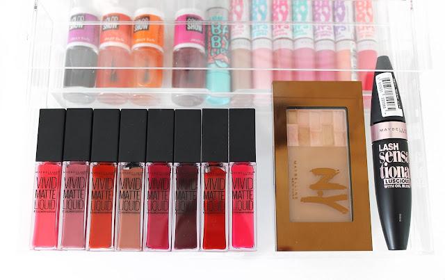A picture of the new Maybelline Vivid Matte Liquid Lipsticks