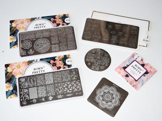 Les Stamping Plates BornPrettyStore