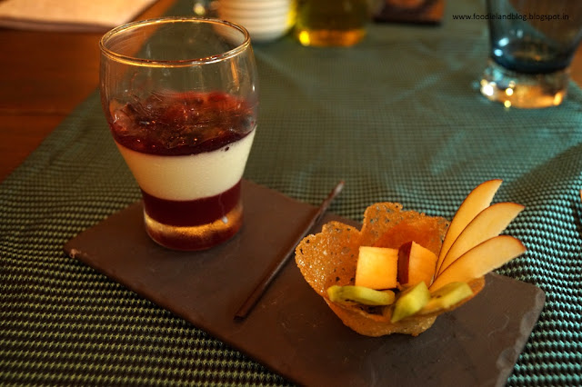 Panna Cotta @ An Evening Affair with Comedy and Gastronomy @ Vivanta by Taj - Yeshwantpur | Bangalore
