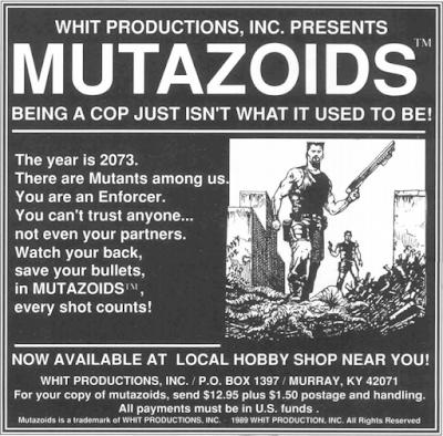 1990 Mutazoids Ad