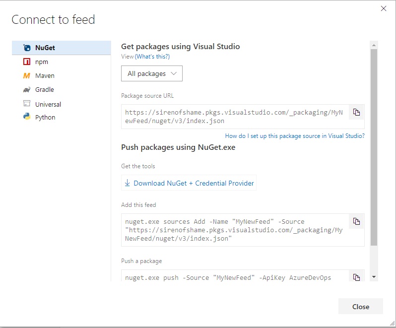 Share Code Like a Boss: Part 1 - Private NuGet Feeds in Azure DevOps