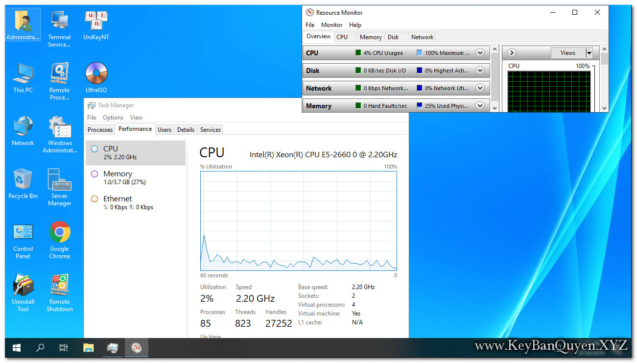 Ghost Windows Server 2019 Datacenter 64 Bit 1809 mới nhất .